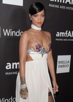 Rihanna: 2014 amfAR LA Inspiration Gala -11