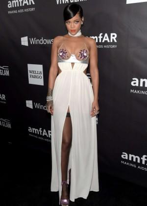 Rihanna: 2014 amfAR LA Inspiration Gala -12