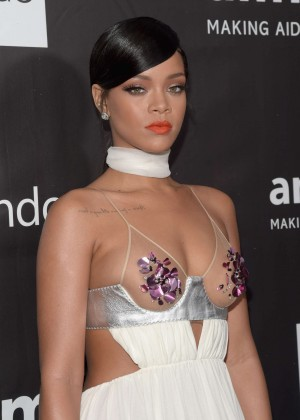 Rihanna - 2014 amfAR LA Inspiration Gala in Hollywood