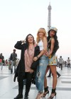 Rihanna and friends photoshoot in front of the Eiffel Tower-03