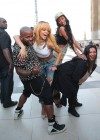 Rihanna and friends photoshoot in front of the Eiffel Tower-07