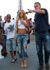 Rihanna and friends photoshoot in front of the Eiffel Tower-10