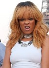 Rihanna and friends photoshoot in front of the Eiffel Tower-16