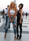 Rihanna and friends photoshoot in front of the Eiffel Tower-19