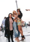 Rihanna and friends photoshoot in front of the Eiffel Tower-20