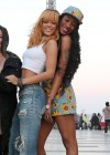Rihanna and friends photoshoot in front of the Eiffel Tower-23