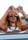Rihanna and friends photoshoot in front of the Eiffel Tower-24
