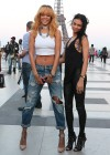 Rihanna and friends photoshoot in front of the Eiffel Tower-28