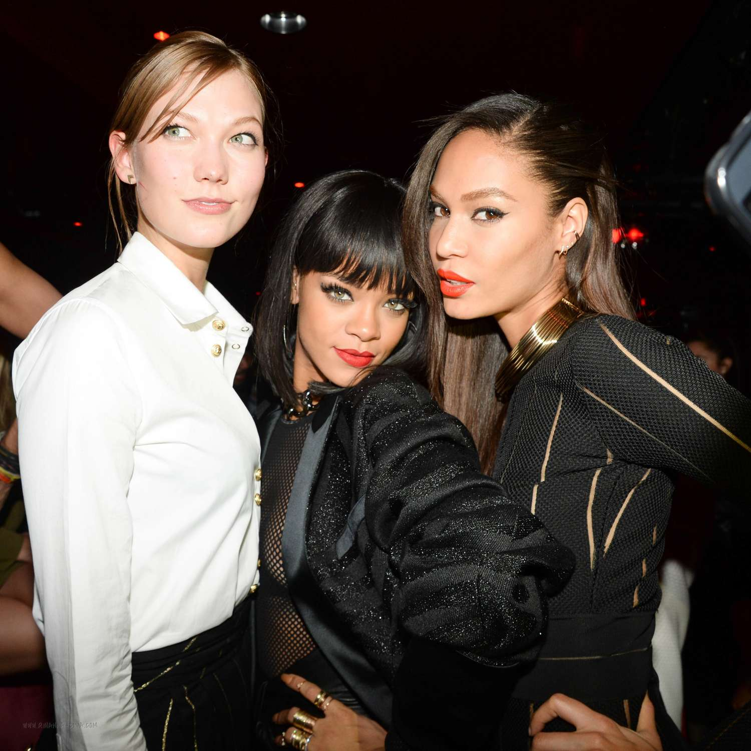run shoes price reduced authentic quality Rihanna: Balmain Paris Fashion Show 2014 After Party -17 ...