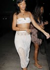 Rihanna in a white tube top-04