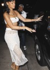 Rihanna in a white tube top-09