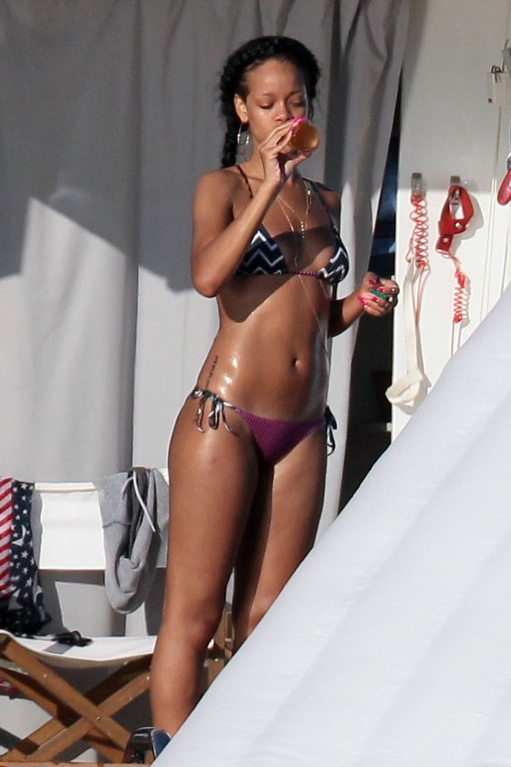 Rihanna in a Bikini in St.Tropez