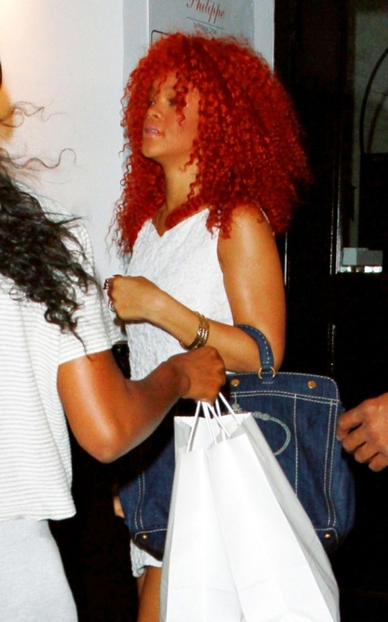 Rihanna – Candids at Philippe Chow in Hollywood
