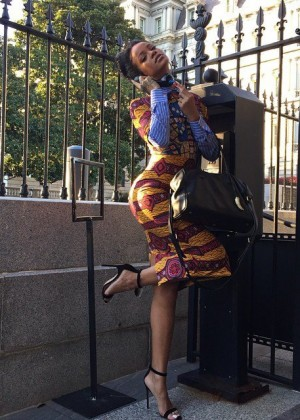 Rihanna - Channels 'Scandal' at the White House
