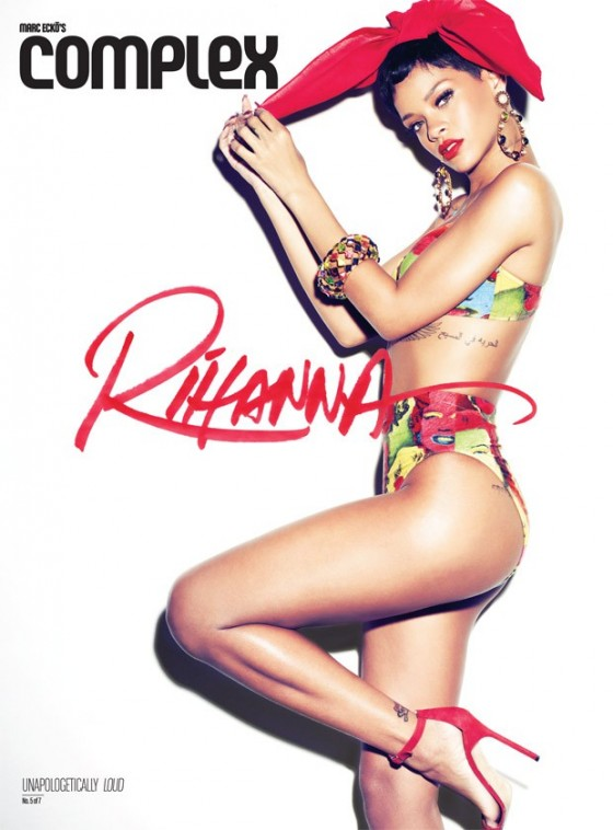 Rihanna - Complex Magazine Photoshoot (February/March 2013)