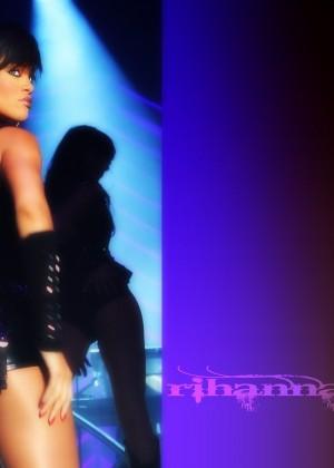 Rihanna Concert Widescreen Wallpapers -17