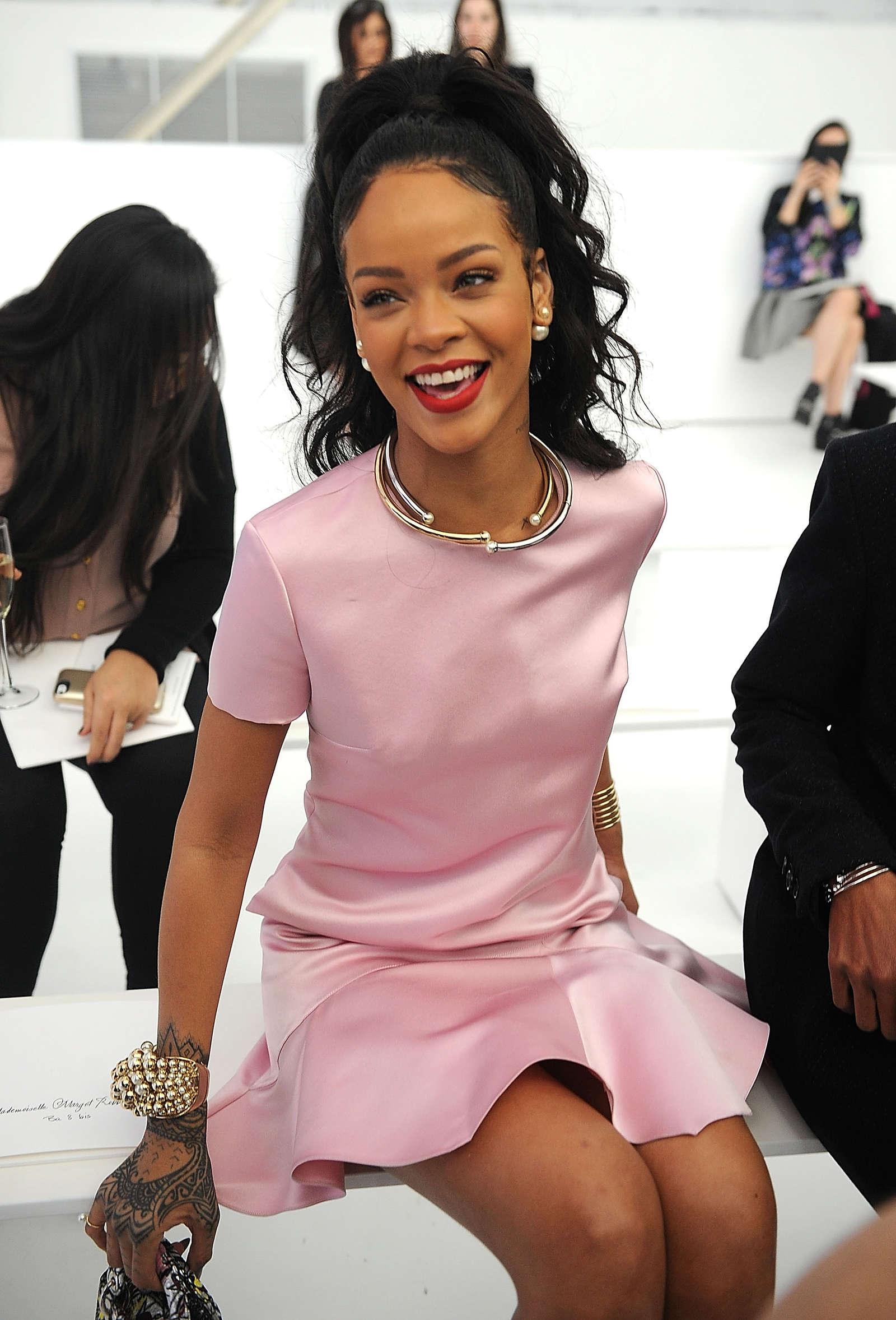 Dior Cruise Fashion Show  Rihanna