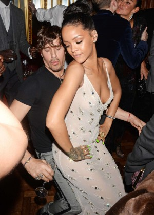 Rihanna - Edward Enninful Party in London