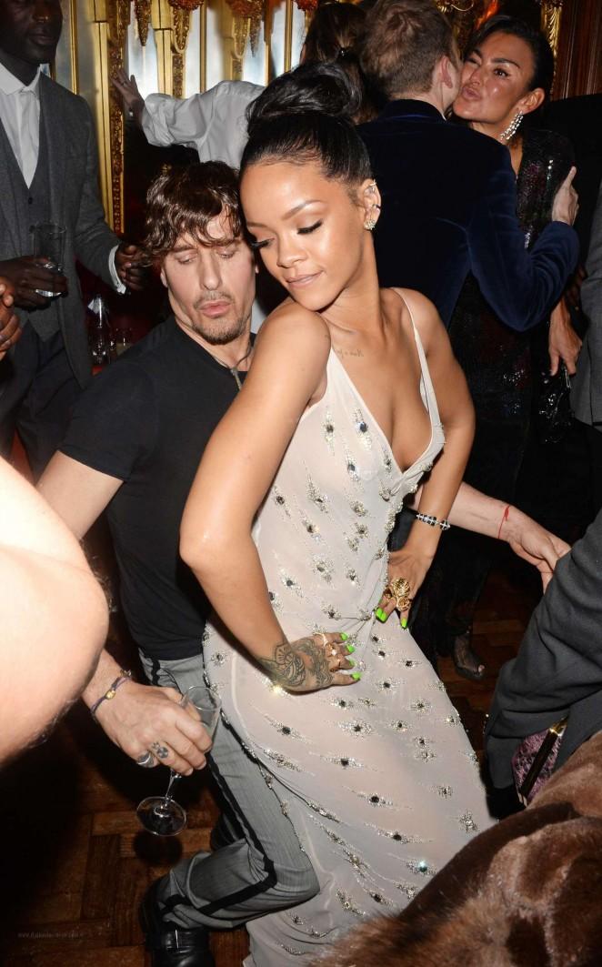 Rihanna – Edward Enninful Party in London