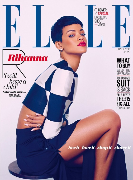 Rihanna - Elle UK April 2013 -23