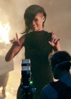 Rihanna filming scenes for her new music video-21