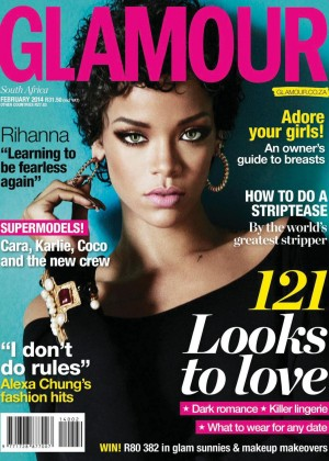 Rihanna: Glamour South Africa 2014 -05