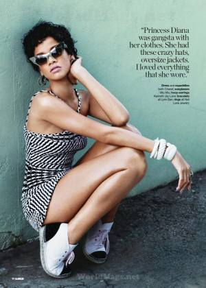 Rihanna: Glamour South Africa 2014 -07
