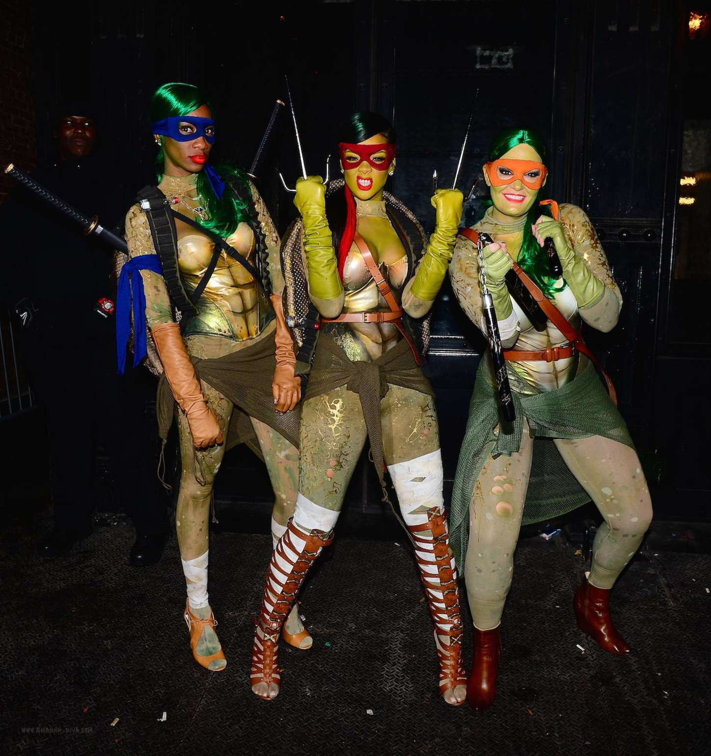 Rihanna: Halloween Party 2014 at Opus Nightclub -03 - GotCeleb