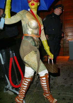 Rihanna - Halloween Party at Opus Nightclub in New York