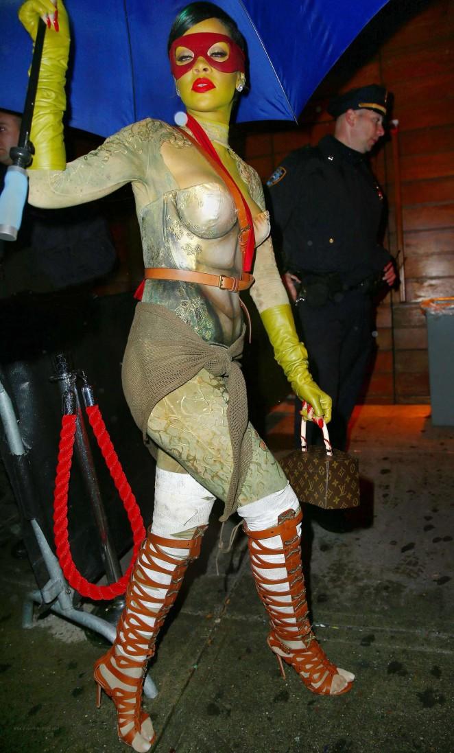 Rihanna - Halloween Party at Opus Nightclub in New York