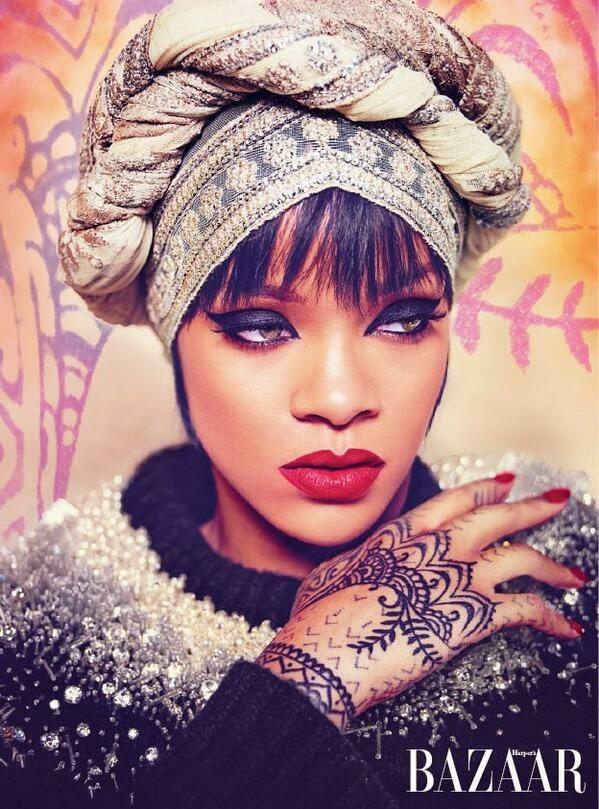 Rihanna 2014 : Rihanna: Harpers Bazaar Arabia 2014 -02