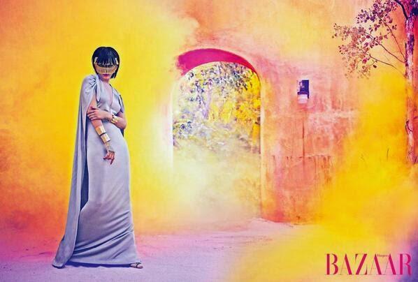 Rihanna 2014 : Rihanna: Harpers Bazaar Arabia 2014 -07