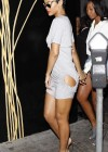 Rihanna - Hot in tight dress at Eden Club in Hollywood