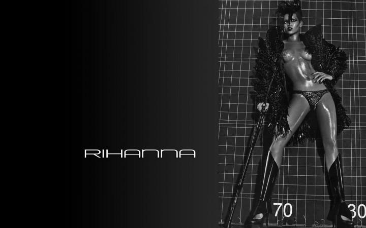 Rihanna Hot Widescreen...