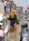 Rihanna in a swimsuit in Monaco -04