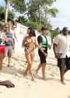 Rihanna Hot BikiniPhotos: Miami -49