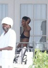 Rihanna - wearing a bikini in Barbados-01