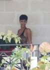 Rihanna - wearing a bikini in Barbados-18