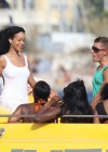 Rihanna In White Swimsuit in Cannes-04