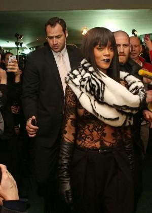 Rihanna: Jean Paul Gaultier Fashion Show -13