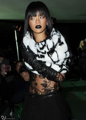 Rihanna: Jean Paul Gaultier Fashion Show -14