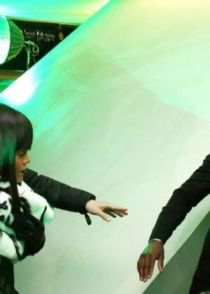 Rihanna: Jean Paul Gaultier Fashion Show -15