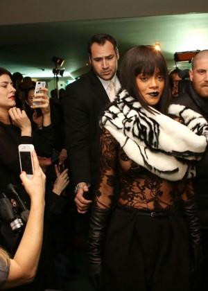 Rihanna: Jean Paul Gaultier Fashion Show -17