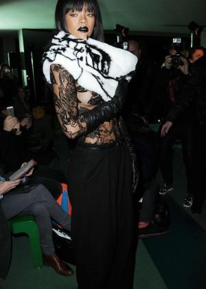 Rihanna: Jean Paul Gaultier Fashion Show -18