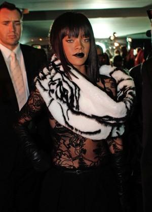 Rihanna: Jean Paul Gaultier Fashion Show -21