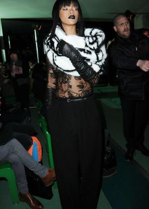Rihanna: Jean Paul Gaultier Fashion Show -22