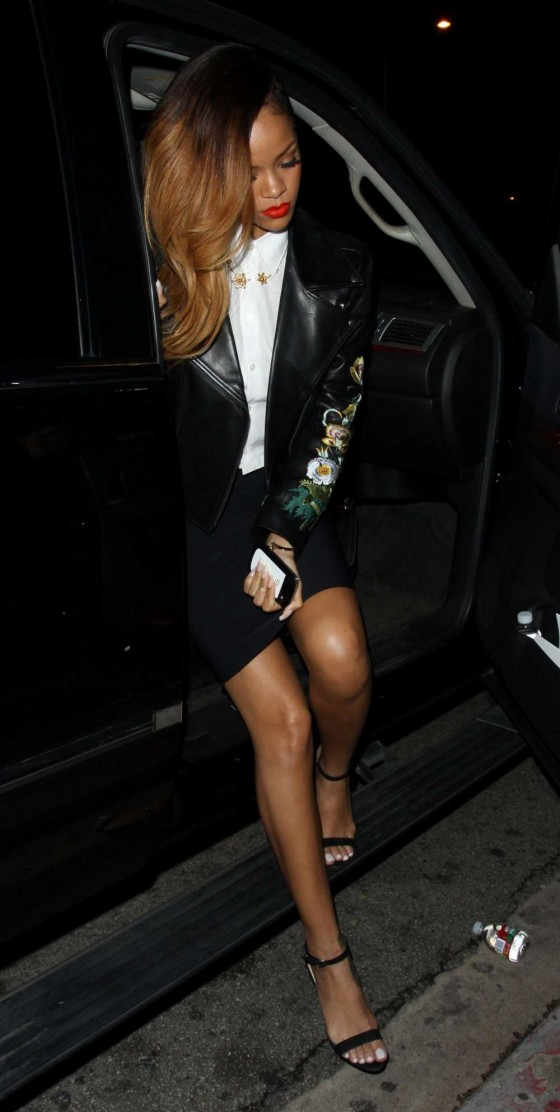 Rihanna Leggy at Greysone Manor Club