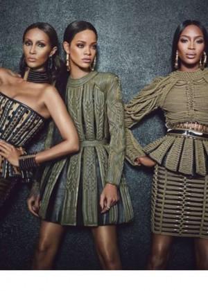 Rihanna, Naomi Campbell & Iman - W Magazine (September 2014)