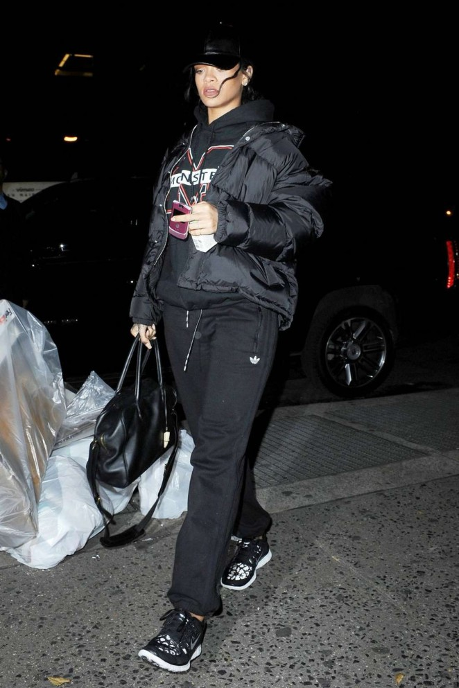 Rihanna Night Out in NYC