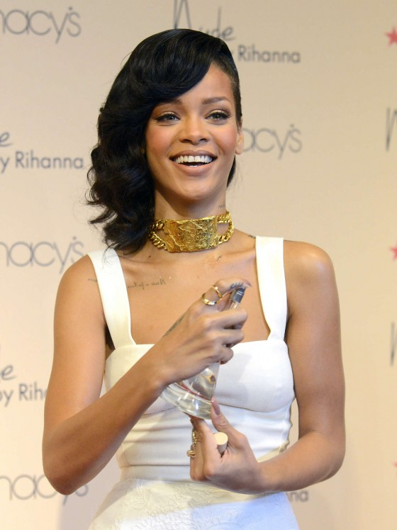Back To Post Rihanna Nude By Fragrance Launch